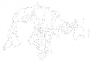 bertin - fond de carte du monde