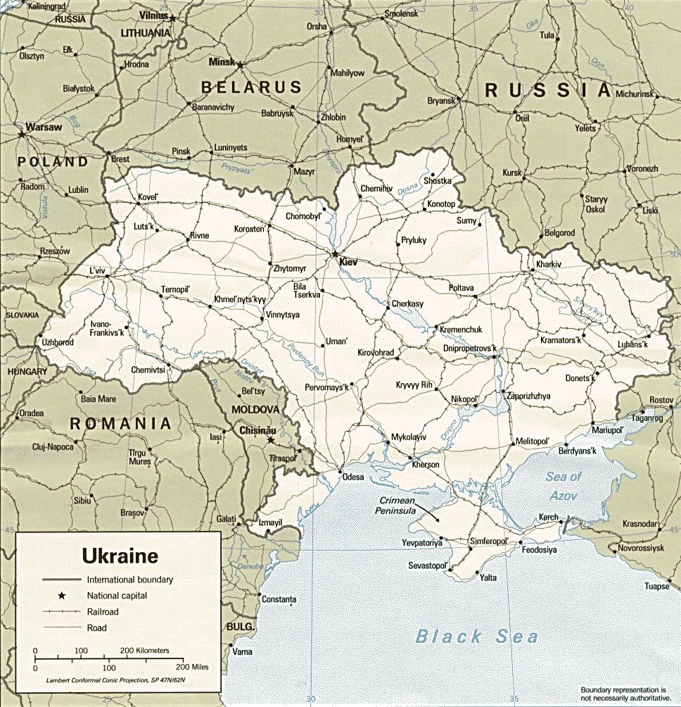 Maps Of Ukraine Cartemondeorg - Ukraine political map