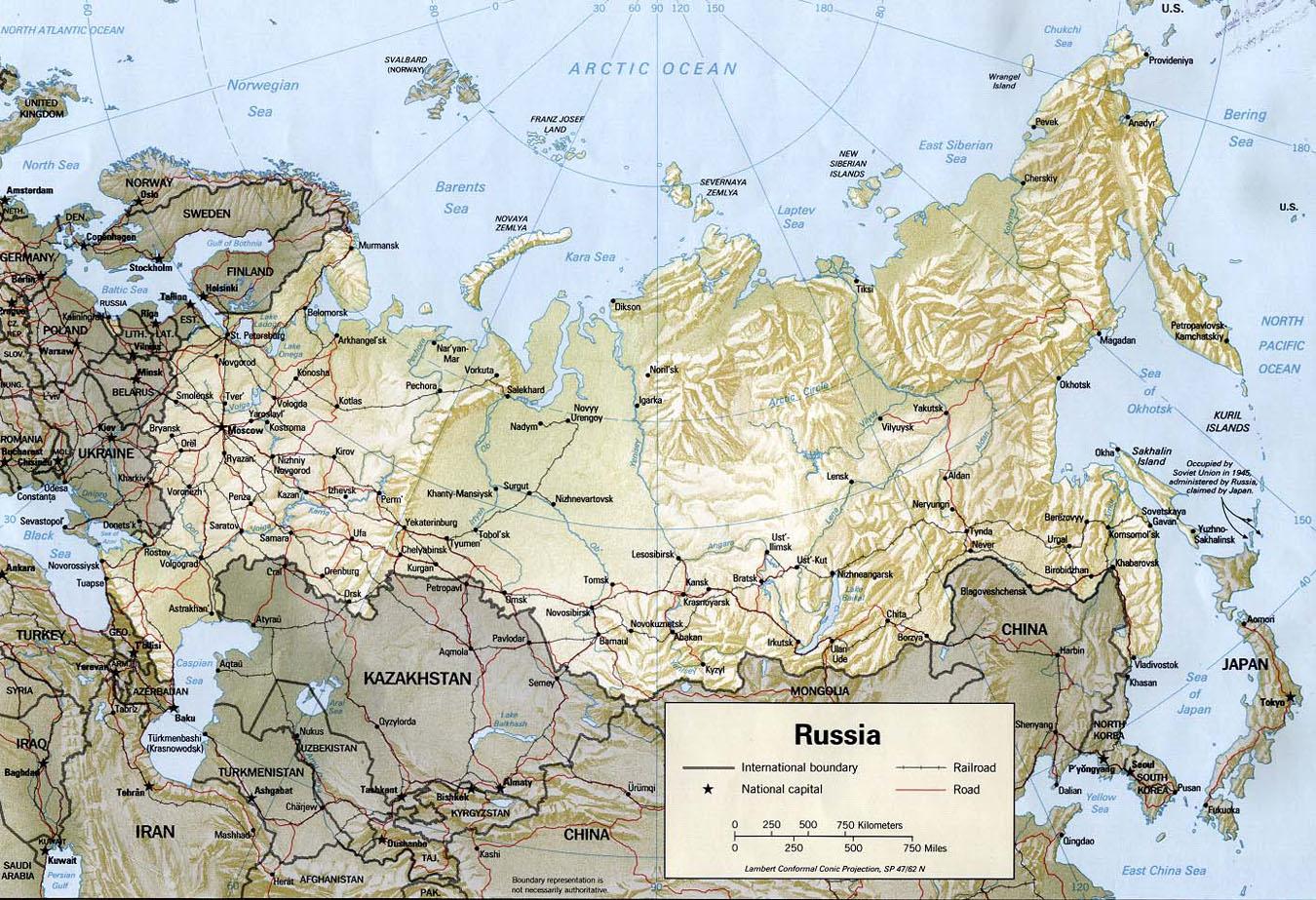 Gographie de la Russie et des espaces postsovitiques
