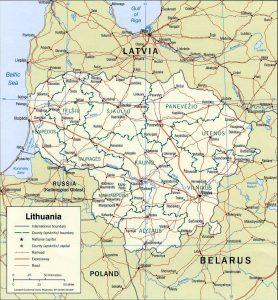 carte-administrative-lituanie