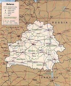 carte-bielorussie-politique