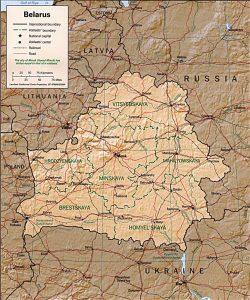 carte-bielorussie-relief