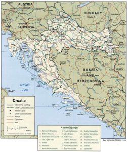 carte-croatie-politique