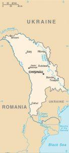 Carte générale de Moldavie