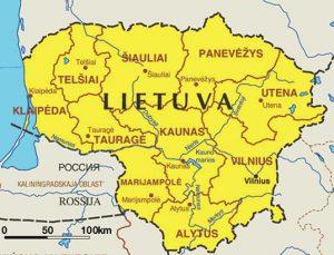 carte-generale-lituanie-lietuva