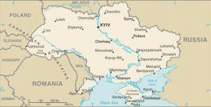 Carte générale de l'Ukraine