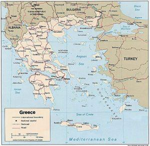 carte-grece-politique