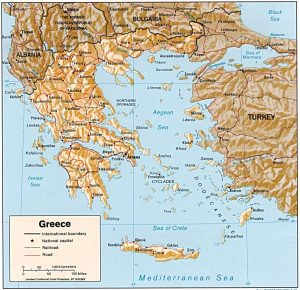 carte-grece-relief