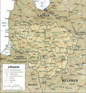 carte-lituanie-relief
