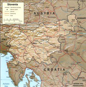 carte-relief-slovenie