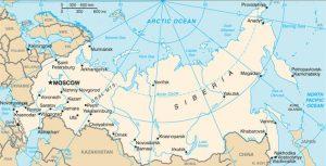 Carte globale de la Russie