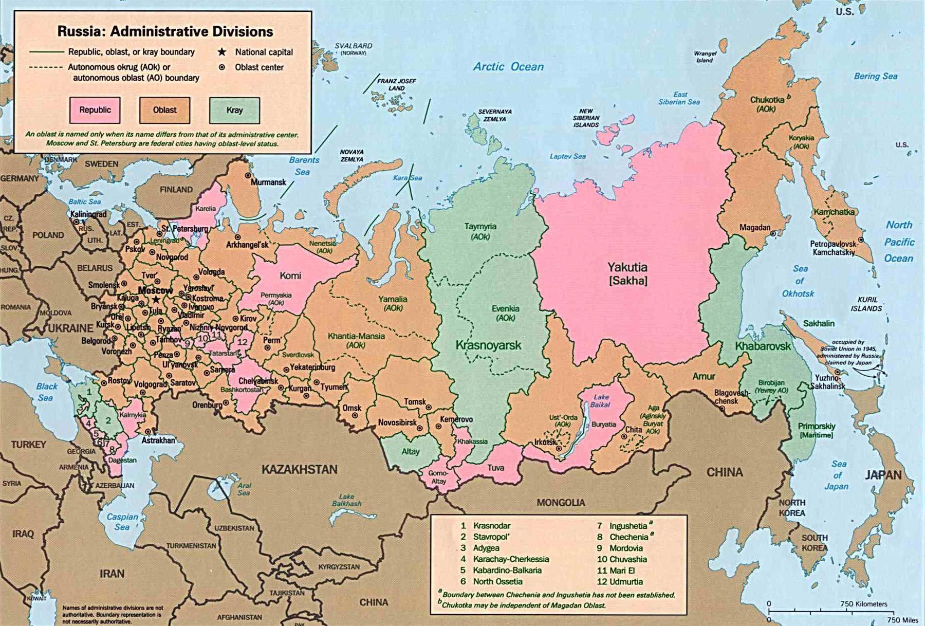 Carte Croatie Et Russie.Cartes De La Russie Carte Monde Org