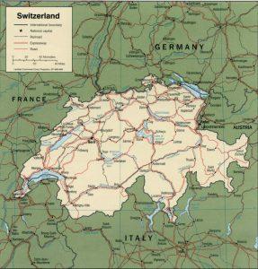 carte-suisse-villes-routes