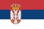 Drapeau de la Serbie