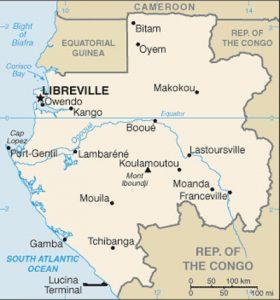 Carte générale du Gabon