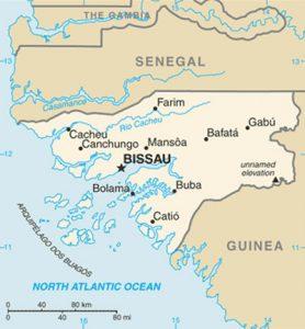 Plan général de la Guinée Bissau