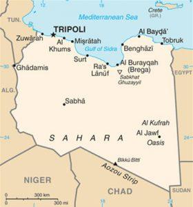 Caret de la Libye