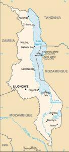 Plan du Malawi