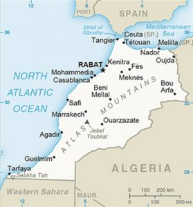 Plan du Maroc