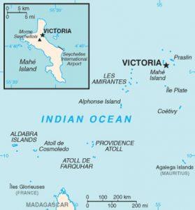 Cartes des Seychelles