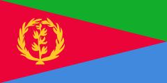 Drapeau de l'Érythrée