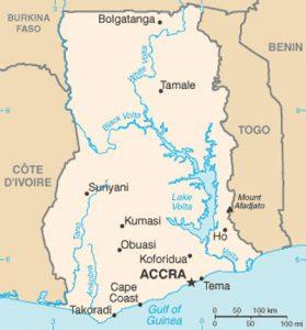 Plan général du Ghana
